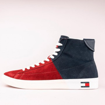 Chaussures montantes cuir -...